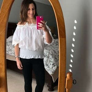 NWT Style Mafia Off The Shoulder Top
